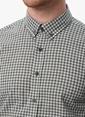 NetWork Kareli Slim Fit Uzun Kollu Gömlek  Gri